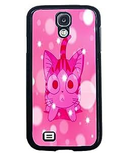 Printvisa 2D Printed Cat Designer back case cover for Samsung Galaxy S4 SM - I9505 - D4563