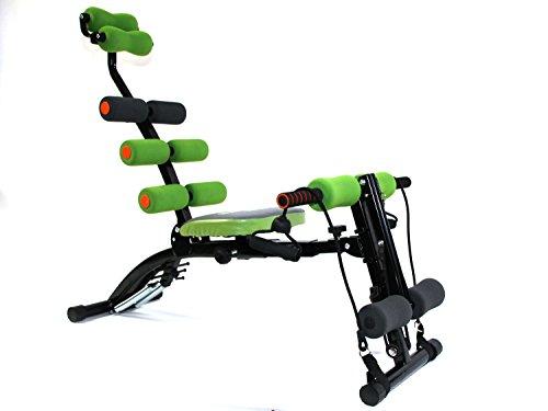 MAXOfit® Multitrainer Greenline SixMax Pro MF-6.G | Ganzkörper Heimtrainer Für Zuhause | Für Bauch Beine Po Rücken