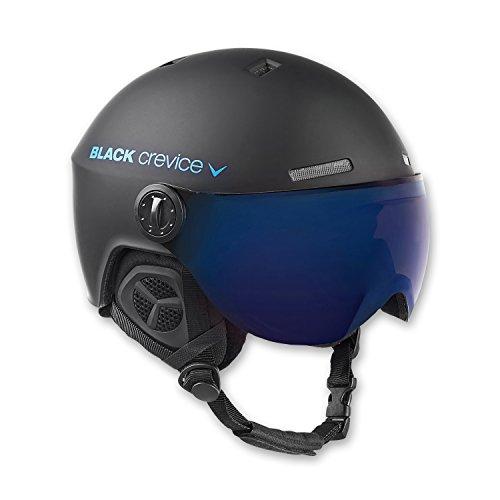 Black Crevice Erwachsene Skihelm Gstaad, schwarz/blau, 58-61 cm, BCR143921-BB-2