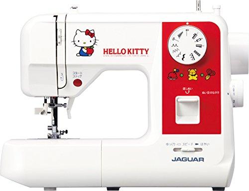 Jaguar (Jaguar) electrónico máquina de coser [Cute Hello Kitty diseño] san2013kt