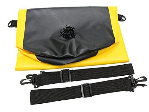 Kadyn-Zaino da 35 l, impermeabile, Borsa a secco, Sacco di compressione, giallo giallo