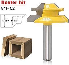 Juke Lock Miter Router Bit