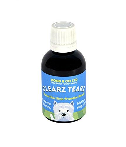 Clearz Tearz Supplément aux herbes pour enlever les tâches de larmes