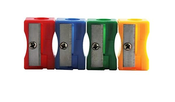 1 Loch 10er Packung Kunststoff 483005 Bleistiftspitzer