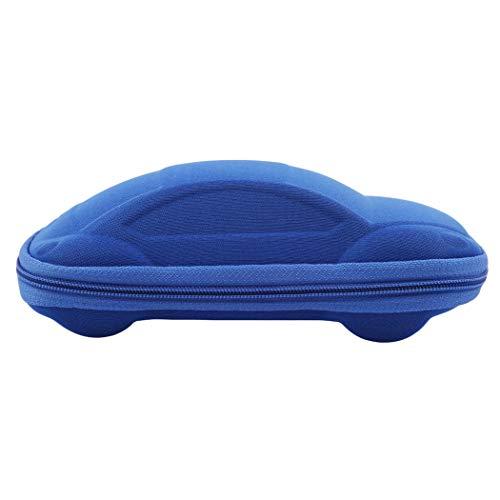Eleusine Coole Auto Form Harte Brille Fall Sonnenbrille Aufbewahrungsbox (Blau)