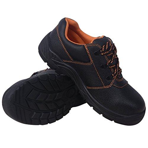 vidaxl-zapatos-de-seguridad-negros-talla-44-cuero