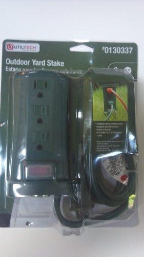 Usado, Unitech Outdoor Yard Outlet Stake - 3 outlet by Unitech segunda mano  Se entrega en toda España