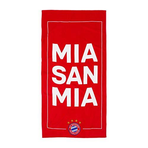 FC Bayern München Duschtuch Strandtuch Handtuch Mia san mia