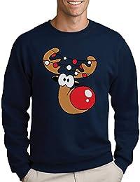 Green Turtle T-Shirts Lustiges Geschenk Rudolph Lichterkette Sweatshirt