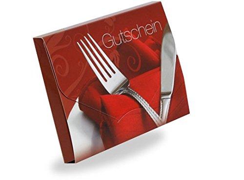 10 Gutscheinkarten - Geschenkgutscheine für Restaurants, Dinner, Gaststätten - Gutschein Cute...