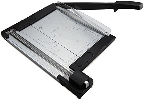 Zoomyo 2 in 1 Rotary Paper Trimmer and Guillotine OC500 - 10 Sheet - Cutting Length 320mm Test