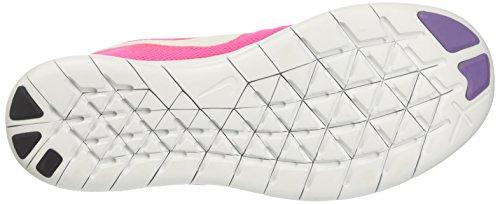 Nike Damen Free Run 2017 Laufschuhe Pink (Racer Pink/off White/pink Blast/brt Mango/purple Earth)