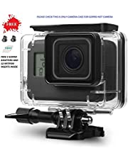 Adofys Underwater Housing Case Compatible with GoPro Hero(2018)/GoPro Hero7 Black/6/5 Waterproof Case Diving Protective Housing Shell Cover with Bracket for Go Pro Camera Accessories