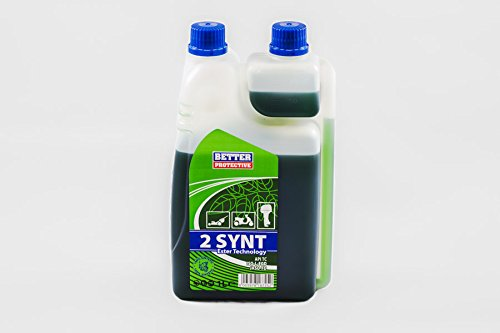Olio per miscela 2 tempi 100% sintetico BETTER 2 Synt 1 Lt con dosatore