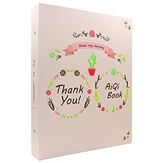 Albus Store 120 Taschen Mini Foto Album für Fujifilm Instax Mini 7s 8 8+ 9 25 26 50s 70 90 Sofortige Kamera & Namenskarte (320 taschen, Rosa-3)