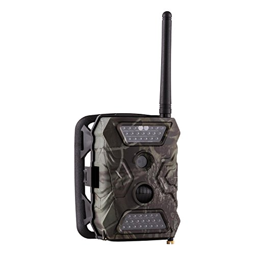 "Duramaxx GRIZZLY GSM Mini Wildkamera Outdoor Kamera (12 MP, 5 cm (2"")-TFT-LCD-Farbdisplay und Lautsprecher, Bewegungssensor, wetterbeständiges Kunststoffgehäuse IP54, GPRS-Unterstützung) camouflage"