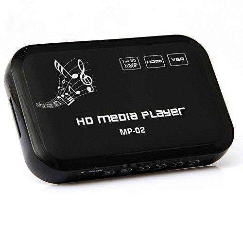 Enem 1080p Full HD Ultra Portable Digital Media Player with Long Range Remote