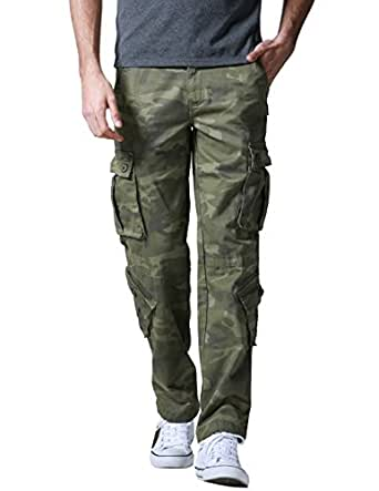 Match Pantalons Cargo pour Hommes #3357(3357 Armée vert max(Army green max),29(FR 38))