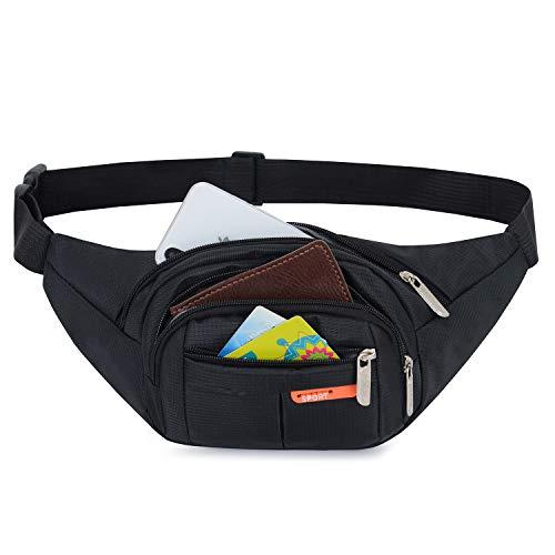 41GmeZlj4nL. SS500  - AirZyx Bumbags and Fanny Packs for Running Hiking Waist Bag Outdoor Sport Hiking Waistpack for Women Men