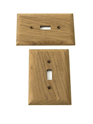 WHITECAP TEAK Switch Cover Plate by Whitecap Industries -