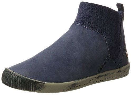 Softinos Imi412sof Washed, Stivali Donna blu (navy)