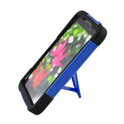 Aimo Schutzhülle für Alcatel Authority/One Touch Ultra (kabellos, mit Standfunktion), schwarz/blau