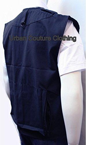 Dallaswear -  Gilet  - Uomo Bleu Marine