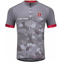 Uglyfrog Magliette Jersey Uomo Mountain Bike Manica Corta Camicia Top Abbigliamento ciclismo DXMZ01
