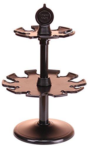 Stempelhalter groß Höhe 20 cm schwarz