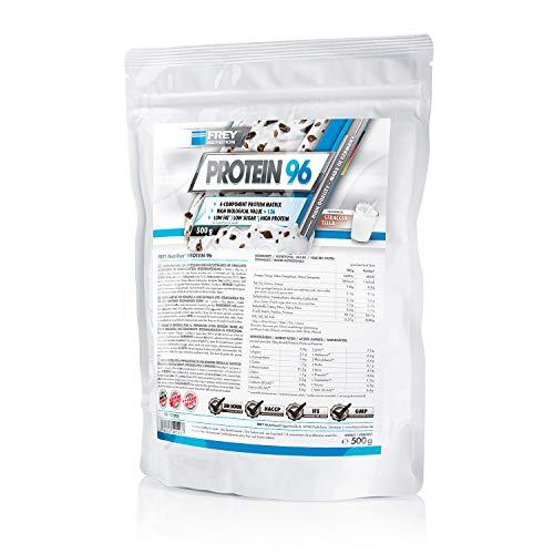 Frey Nutrition Protein 96 Straciatella, 1er Pack (1 x 500 g)