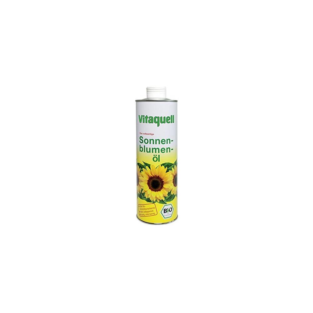 Sonnenblumenl Vitale Bio Saat 075 L