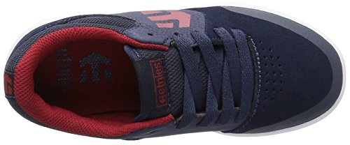 Etnies Marana, Chaussures de Skateboard Mixte enfant Blau (438 , BLUE/RED/WHITE)