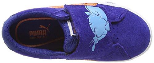 Puma  Puma S Vulc Tom & Jerry Kids, Sneakers basses mixte enfant Bleu (Sodalite Blue/Cloisonn/Orange)
