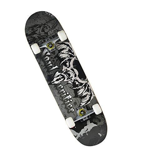 """Chaokele01Standard Skateboard 31""""Bat scheletro completo stateboard, Bat Skeleton"""