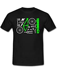 MTB Kit Cycloholic Männer T-Shirt von Spreadshirt®