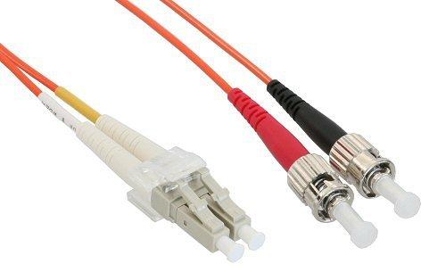 InLine LWL Duplex Kabel, LC/ST, 1m