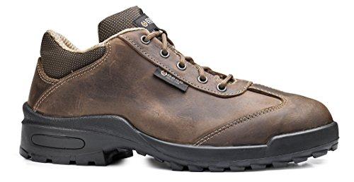 Base BO187 Simon S3 SRC Mens Classic antidérapante lacets chaussure de sécurité brown
