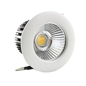LEDIARY 55 mm agujero de corte 5 W LED Downlight redondo empotrable de techo lámparas, aislado CE fuente de alimentación…