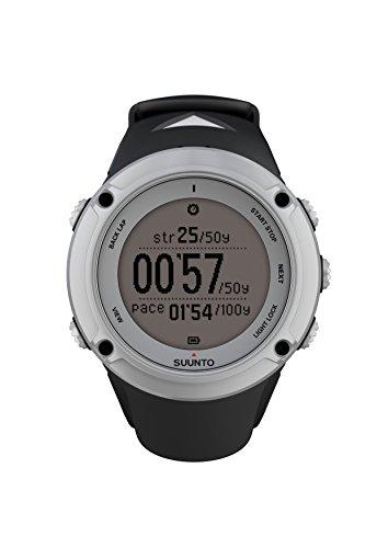 Suunto Ambit2 Silver - Reloj con GPS integrado unisex, color plateado / negro