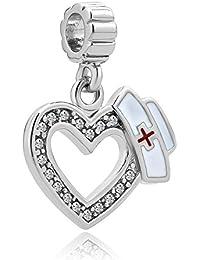 Korliya Happy Birthday Charm Dangle Bead For Bracelet q9Ghhn8