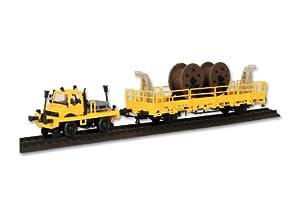 Kibri 16062 - H0 Unimog con el Tren de Dos vías y Bastidor de Empuje