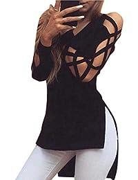 Ropa L Las es Camisetas Tops Tetas Blusas Amazon Mujer Y AqzwRx