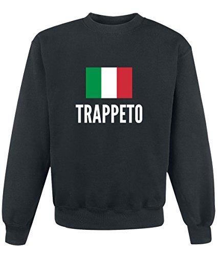 Felpa Trappeto city Black