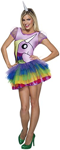 Adventure Kostüm Adult Time - Adventure Time Lady Rainicorn Adult Costume Size Medium