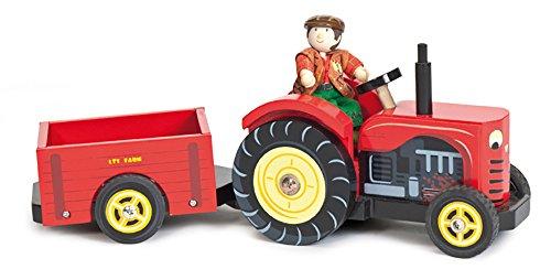 Le Toy Van Berties Traktor - Vans Rote Kleinkinder