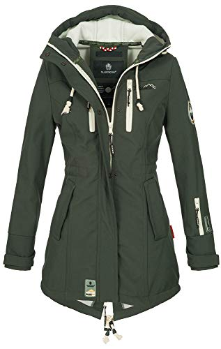 Marikoo Damen Winter Jacke Winte...
