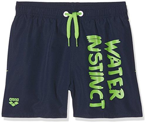 arena Water Instinct J Boxer, Kostüm Kinder, Navy/Leaf, 8-9