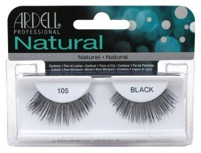 Ardell Fashion Wimpern (Ardell Fashion Lashes #105 Black (6 Pack) by Ardell)
