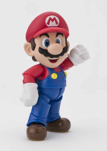 Bandai-Tamashii-Nations-BTN83159-0-Figura-de-accin-Mario-Bros-BTN83159-0-Figura-Super-Mario-10cm-Figuarts
