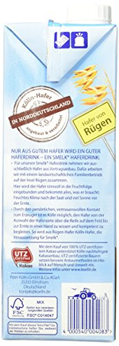 Kölln Smelk Haferdrink Schokolade – 8 x 1l - 5